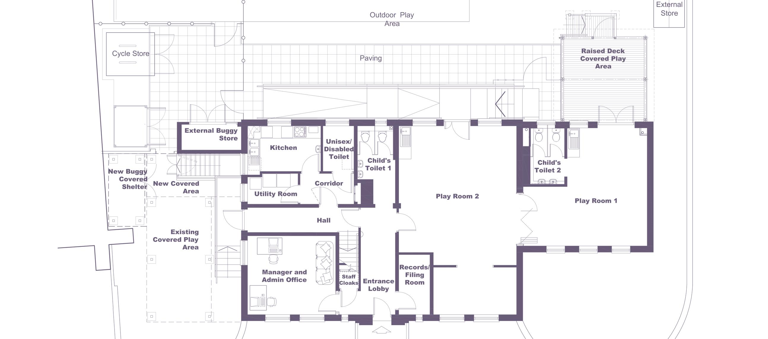 Greyfriars Ground Floor